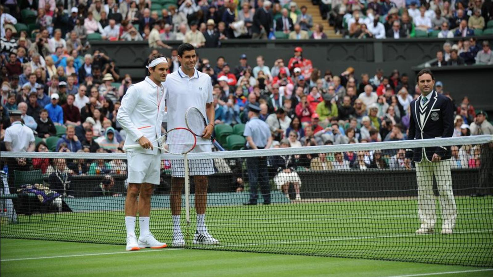 Le discret blazer surprise de Federer Wimbledon 2013