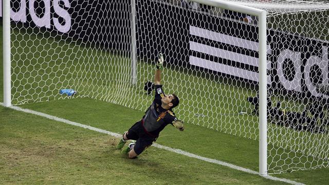 Casillas admits Spain were 'lucky'