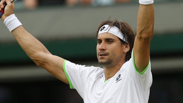 Ferrer a ramé, Djokovic s'est baladé