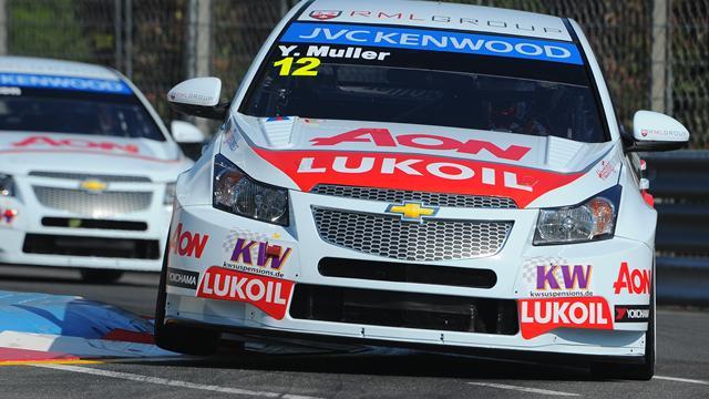 İlk yarış Muller'in