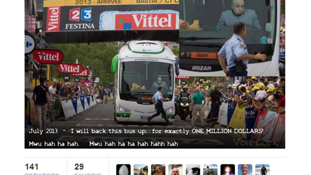 TweeTour: Le Bus Orica? On sait pourquoi...