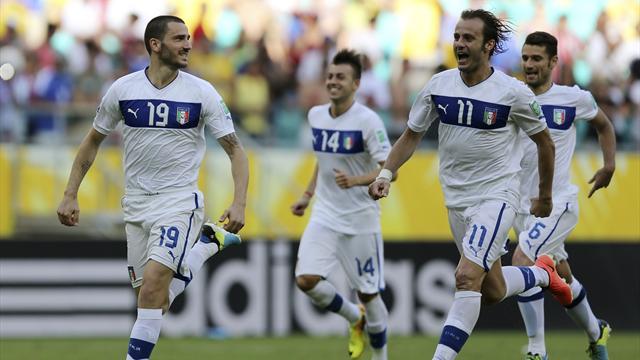 Italy beat Uruguay on penalties to finish third