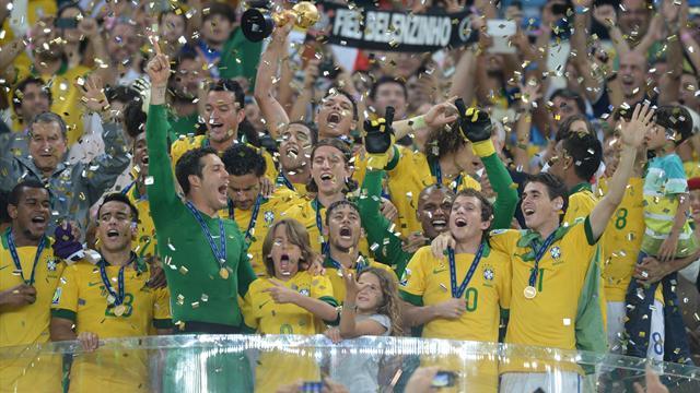 Бразилия – сильнее. Пентакампеоны – обладатели Кубка Конфедераций