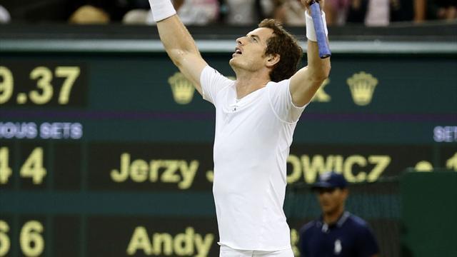 Inspired Murray ousts Janowicz to set up Djokovic showdown