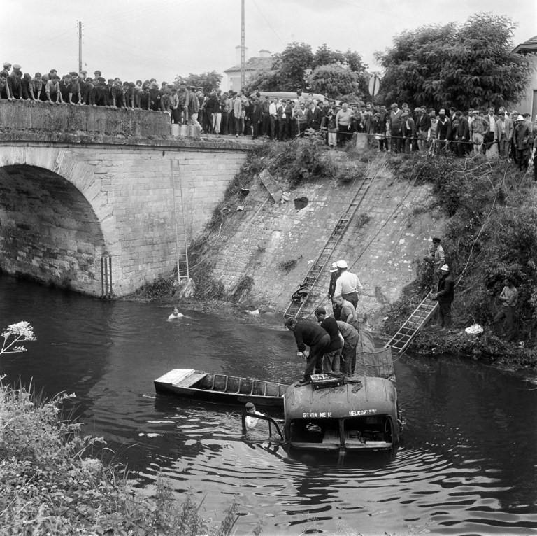 Drama bei der Tour de France 1964 in Port de Couze