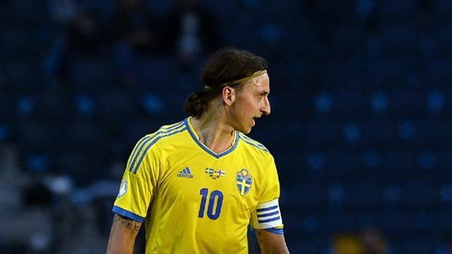 Ibrahimovic scores hat-trick as Sweden beat Norway