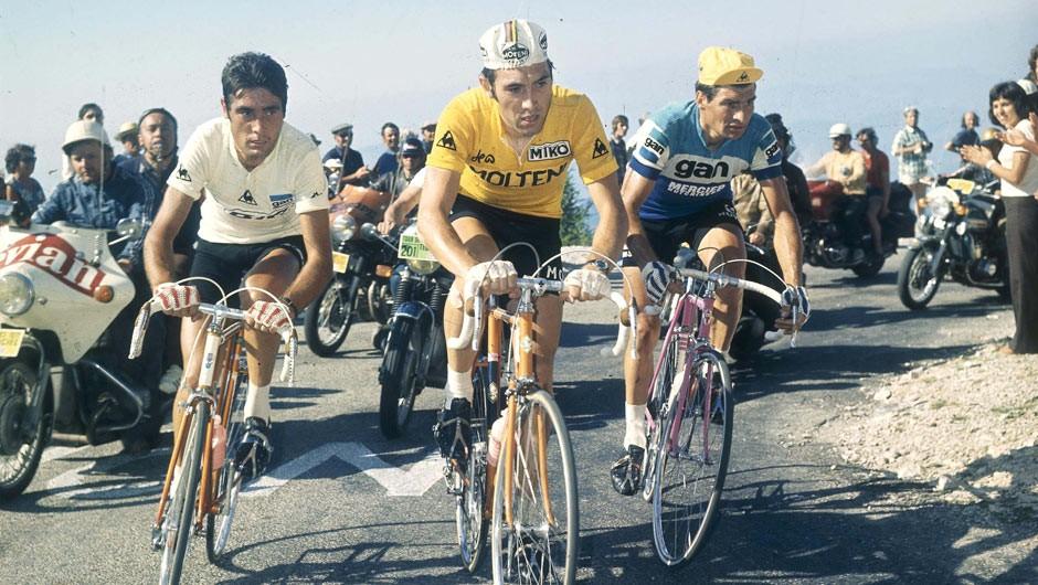 Eddy Merckx, Luis Ocana, Raymond Poulidor