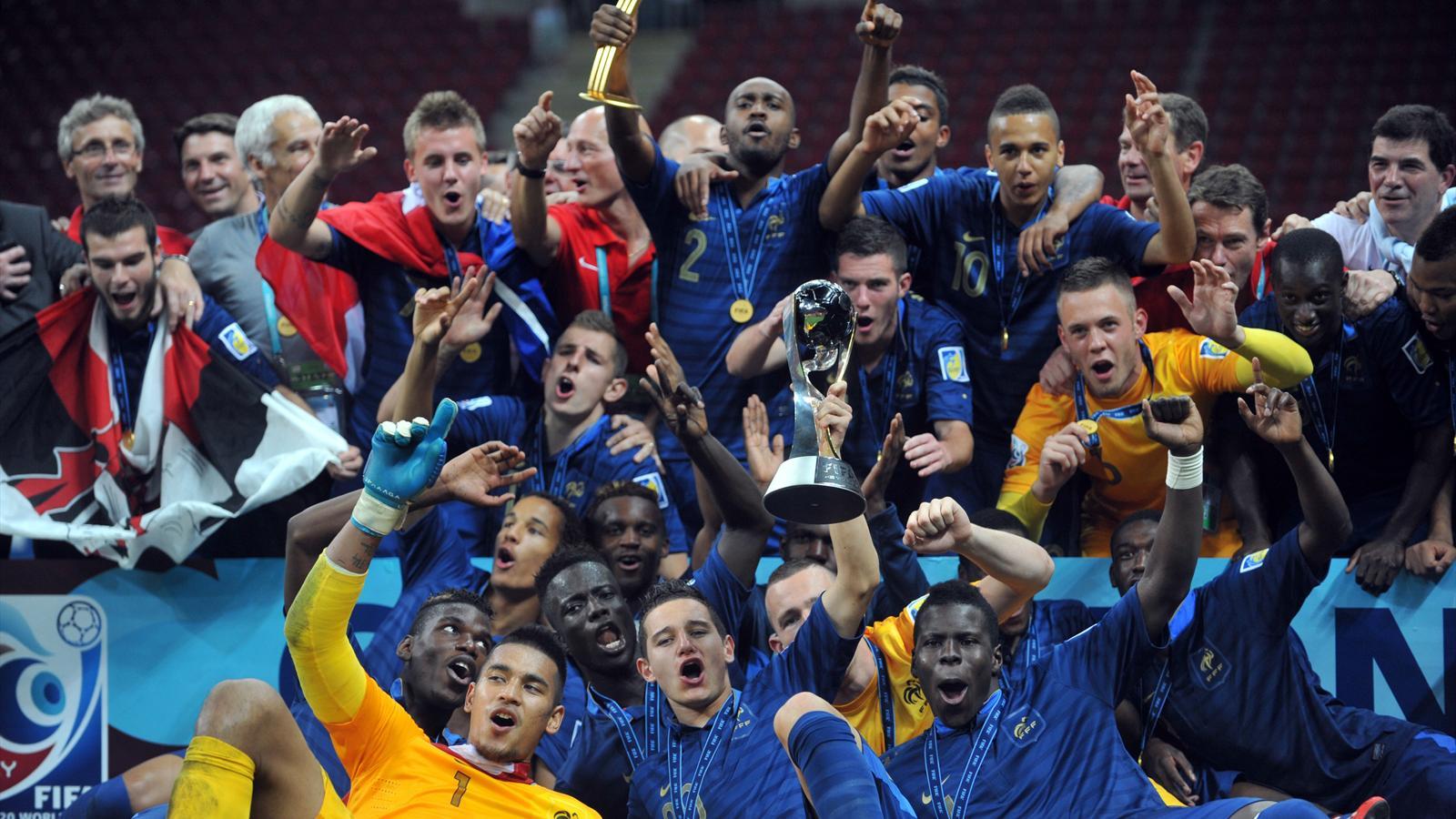 France u20 uruguay u20 le bleuets champions du monde - Resultat foot feminin coupe de france ...