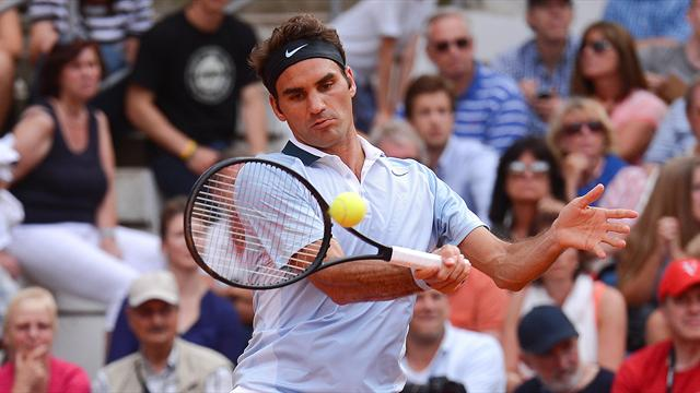 Federer, Haas progress in Hamburg