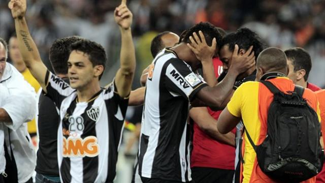 L'Atletico Mineiro et Ronaldinho au sommet