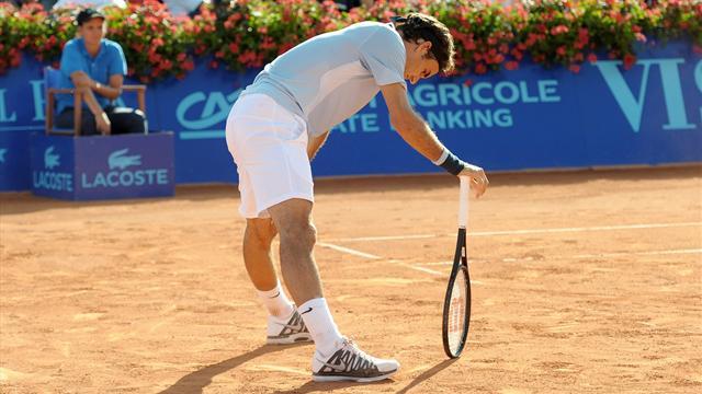 """Federer: """"J'ai des problèmes sérieux au dos"""""""