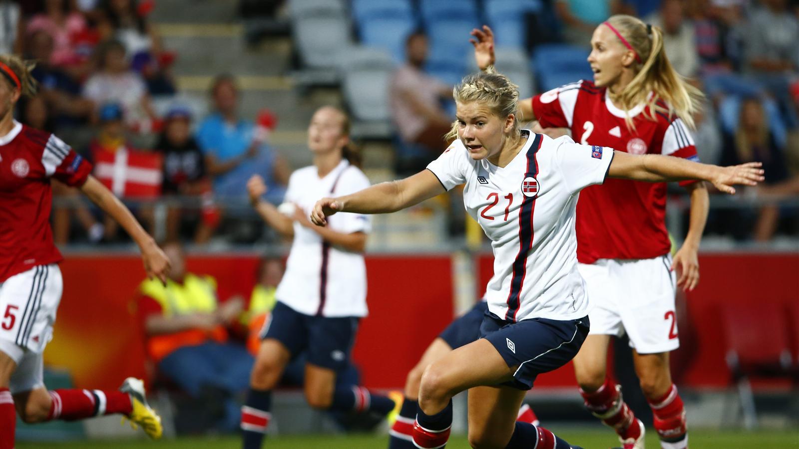La norv ge au bout du suspense football f minin 2013 football eurosport - Coupe d europe de basket feminin ...