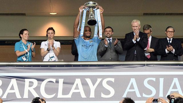 City beat Sunderland to win Asia Trophy - Premier League 2013-2014.