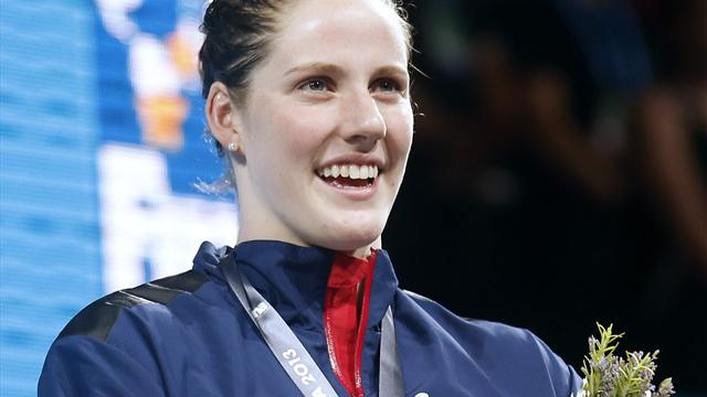 Five-times Olympic champion Franklin retires at 23