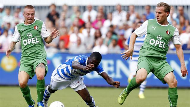Feyenoord start with shock defeat at Zwolle