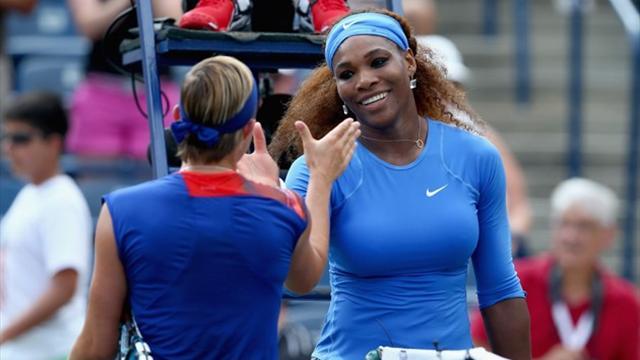 Serena disputará la final con la rumana Cirstea