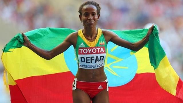 Ethiopia's Defar storms to 5000m title - World Championships 2013 - Athletics - Eurosport Asia
