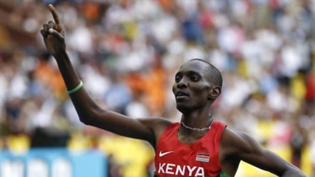 En coiffant une troisième couronne mondiale, Kiprop montre qu'il est bien le roi du 1500m