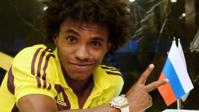 Willian 'agrees five-year deal with Tottenham'