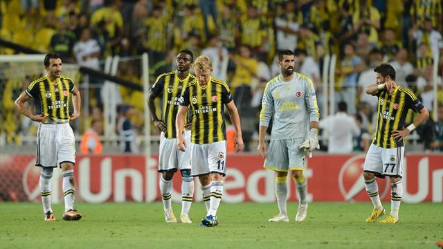 CAS Fenerbahçe'yi men etti