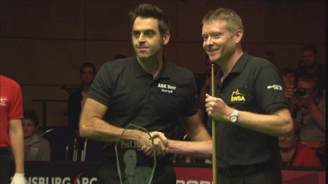 Superb O'Sullivan wins Paul Hunter Classic