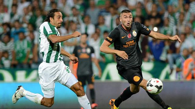 Galatasaray-Bursaspor / MAÇ ÖZETİ