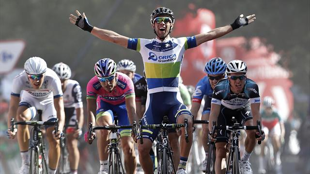 Matthews sprints to stage five victory