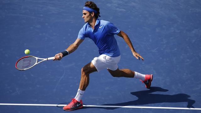 Federer en double avec le numéro un chinois