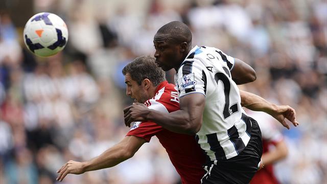 Ben Arfa screamer lifts Newcastle over Fulham