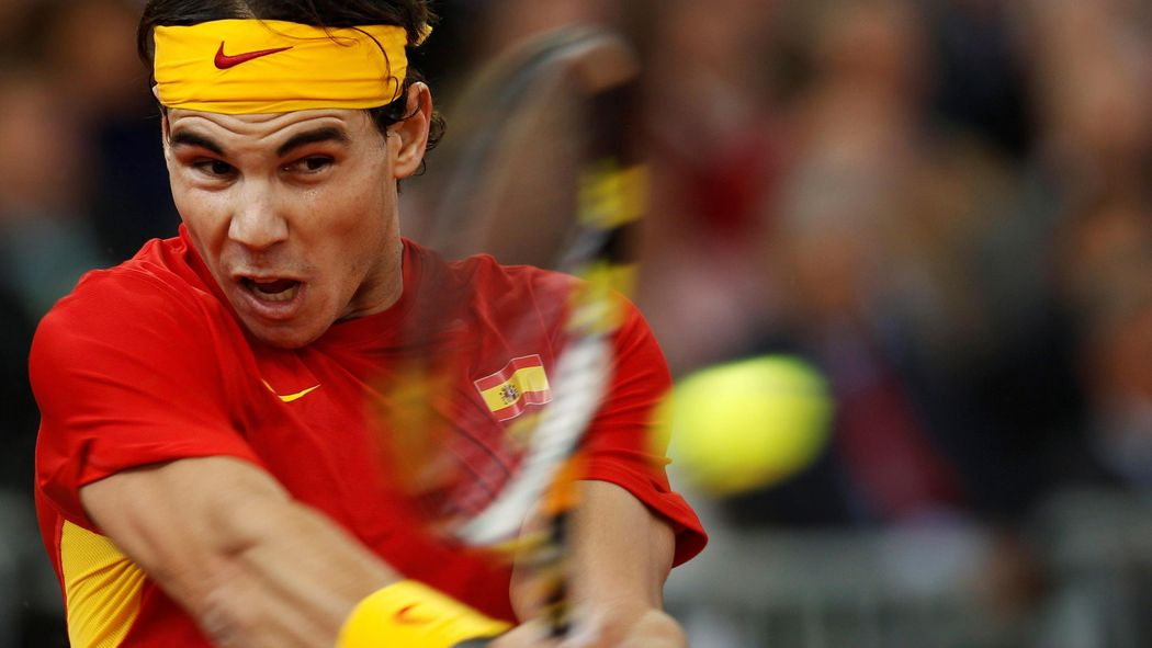 Spanien Mit Rafael Nadal Im Davis Cup Viertelfinale Gegen
