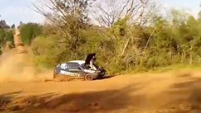 Co-Driver accelerates by sitting on engine