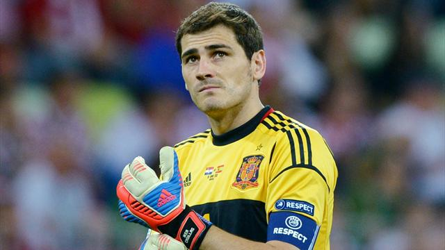 Avec sa 166e sélection, Casillas rentre un peu plus dans l'histoire