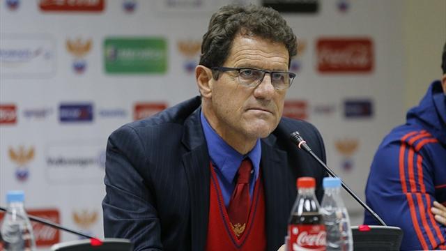 Капелло: «Поздравляю с успехом игроков, федерацию и Мутко»
