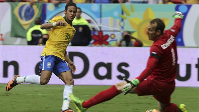 Neymar on song as Brazil crush poor Australia