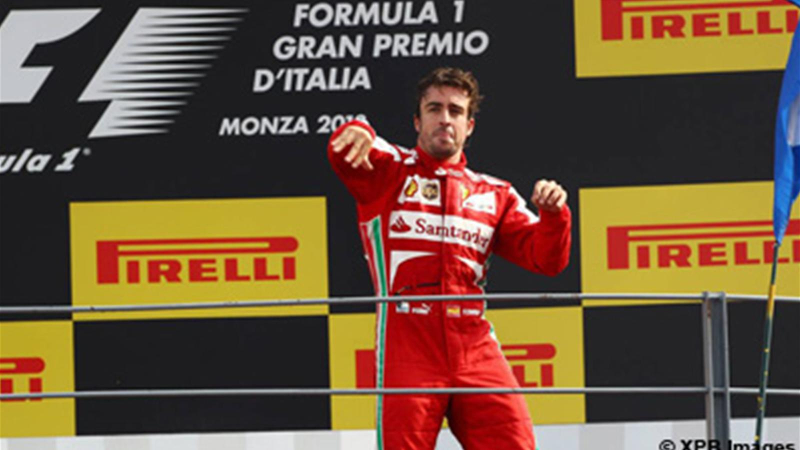 alonso voque ses chances de remporter le titre grand prix d 39 italie 2013 formule 1 eurosport. Black Bedroom Furniture Sets. Home Design Ideas