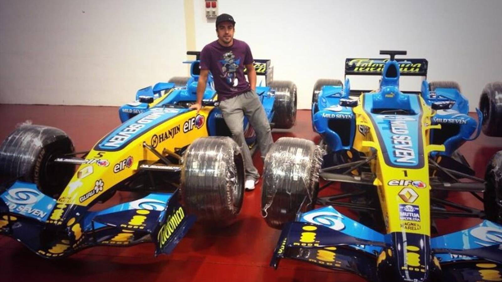 Fernando alonso ferrari pr pare l 39 ouverture de son exposition hors piste 2013 formule 1 - Formule vitesse de coupe ...