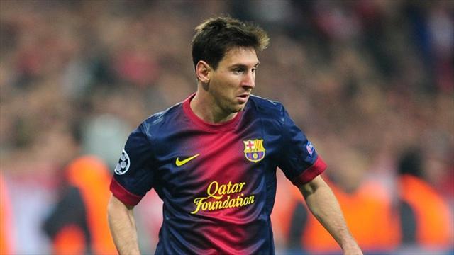 Tit for tat as Messi matches Ronaldo's treble