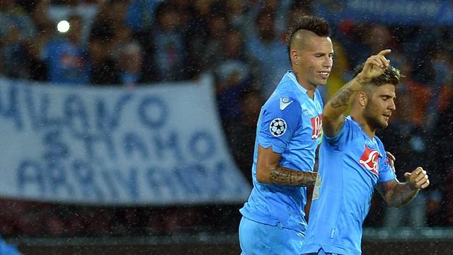 Крутейший гол Инсинье и издевательский мяч Гамшика, сломившие «Торино»