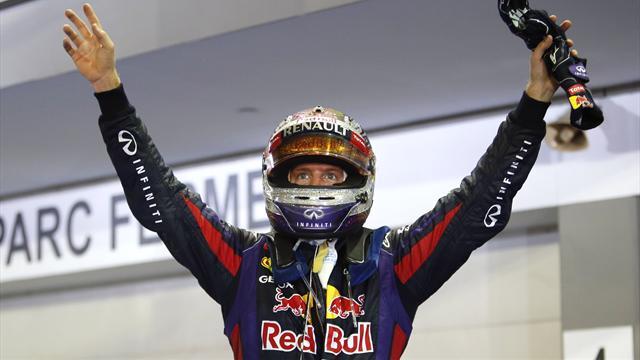 Vettel kazanmaya alıştı