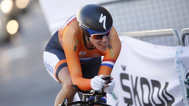 Van Dijk claims second gold
