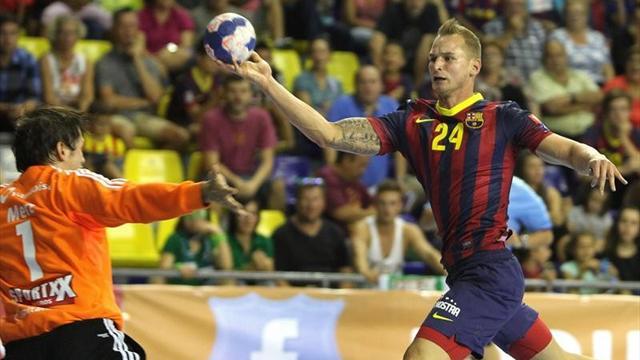 El Barça gana con solvencia al Bidasoa en Irún (22-34)