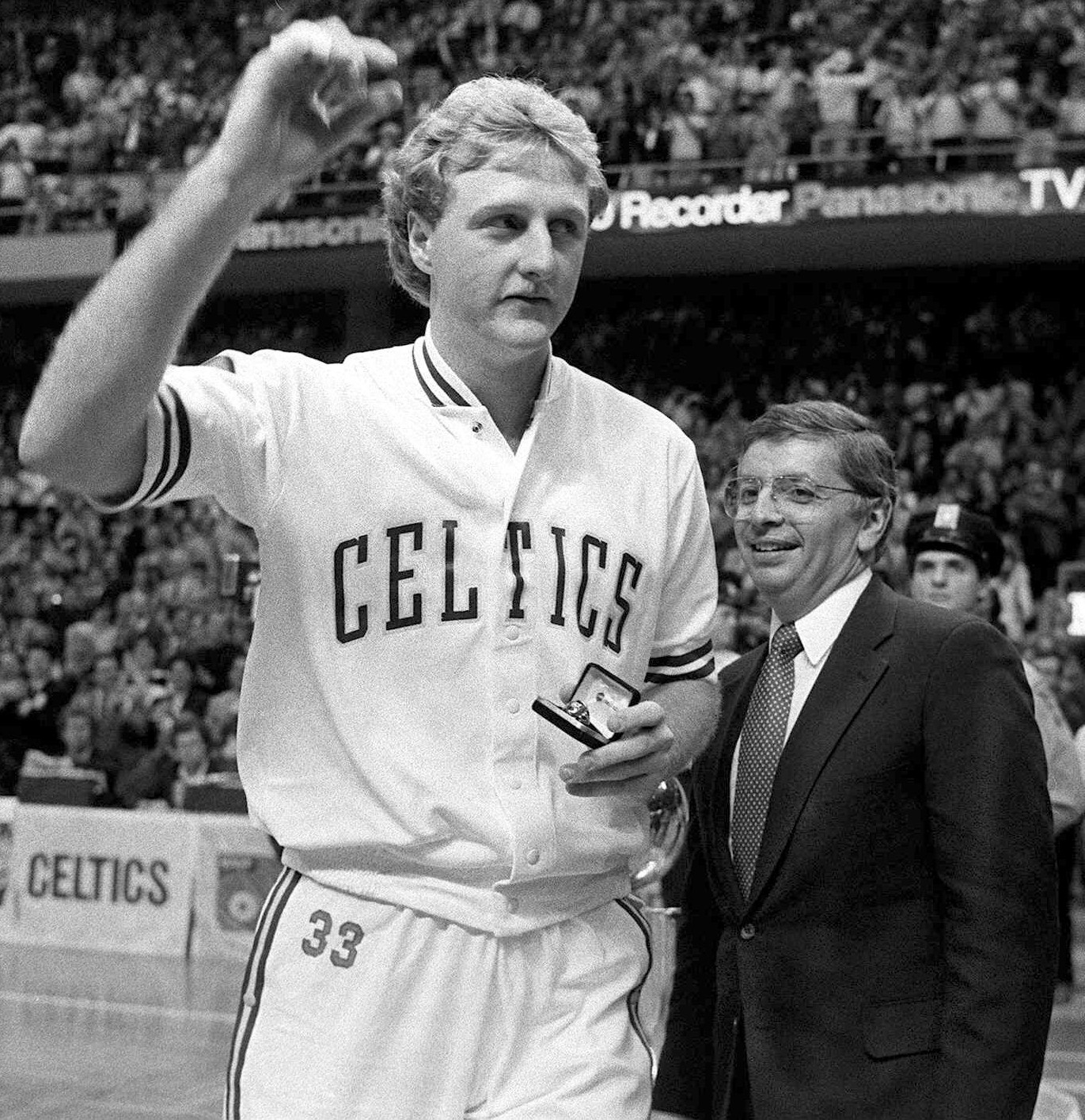 1984, NBA, Boston Celtics, Larry Bird, David Stern (Ap/LaPresse)
