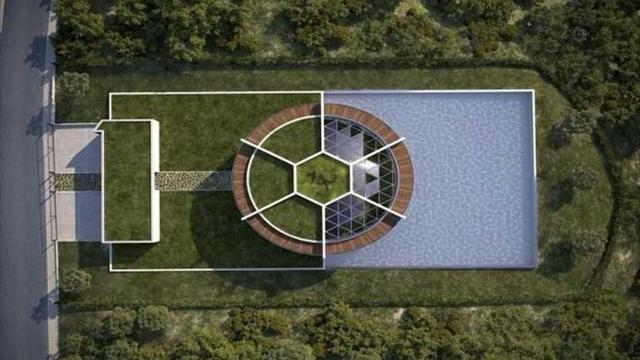 Lionel messi se fait construire une villa en forme de for Construire sa villa