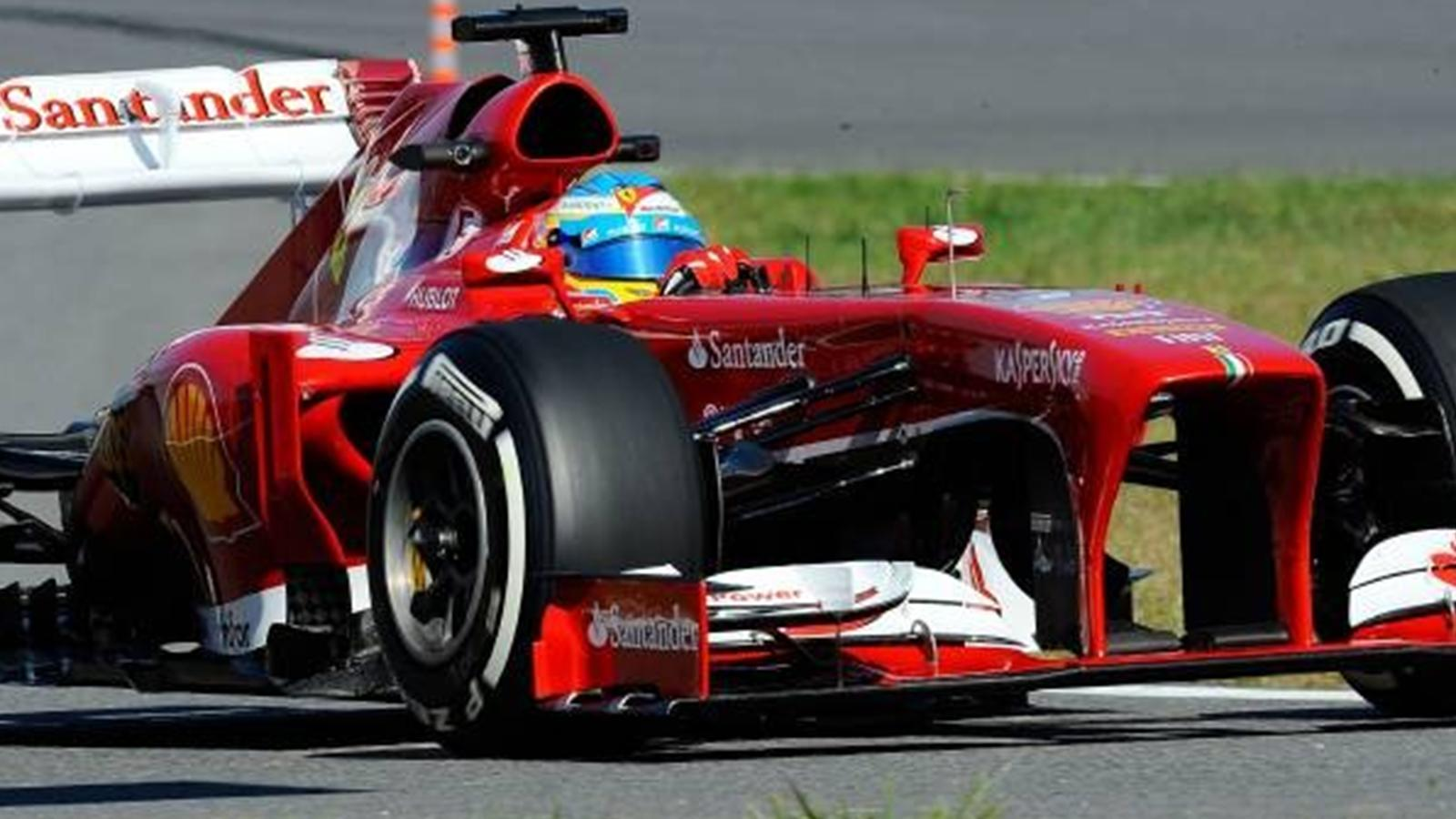fernando alonso ferrari ferrari a besoin d 39 une autre voiture grand prix de cor e 2013. Black Bedroom Furniture Sets. Home Design Ideas