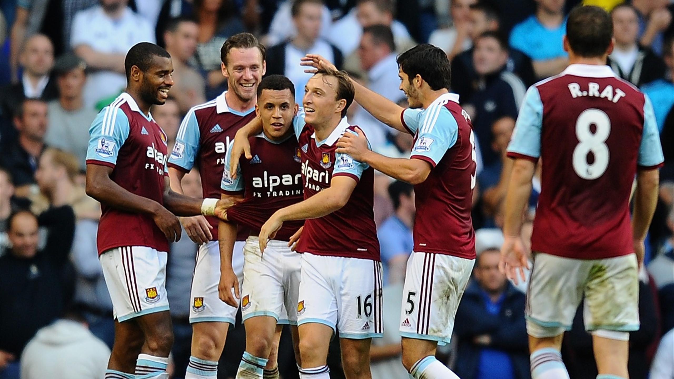 Allardyce Happy As Spurs Un Ravel Premier League 2012 2013