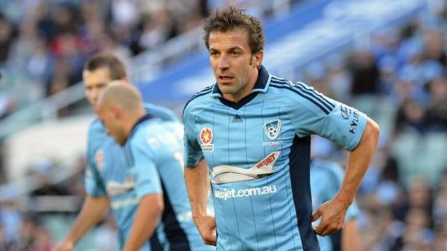 Del Piero to play against former club Juventus
