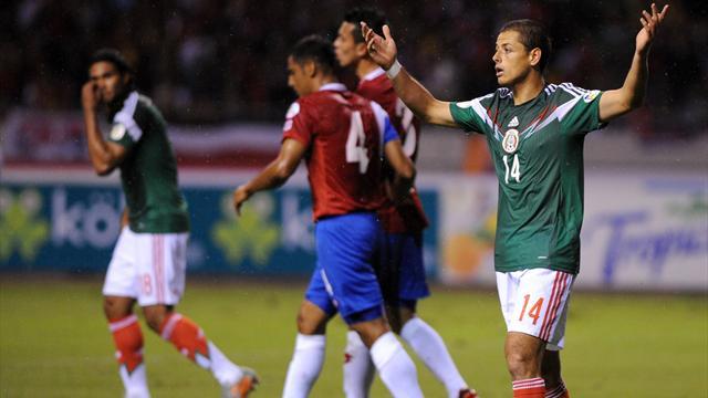 Pour le Mexique, c'est déjà un miracle d'être en barrages
