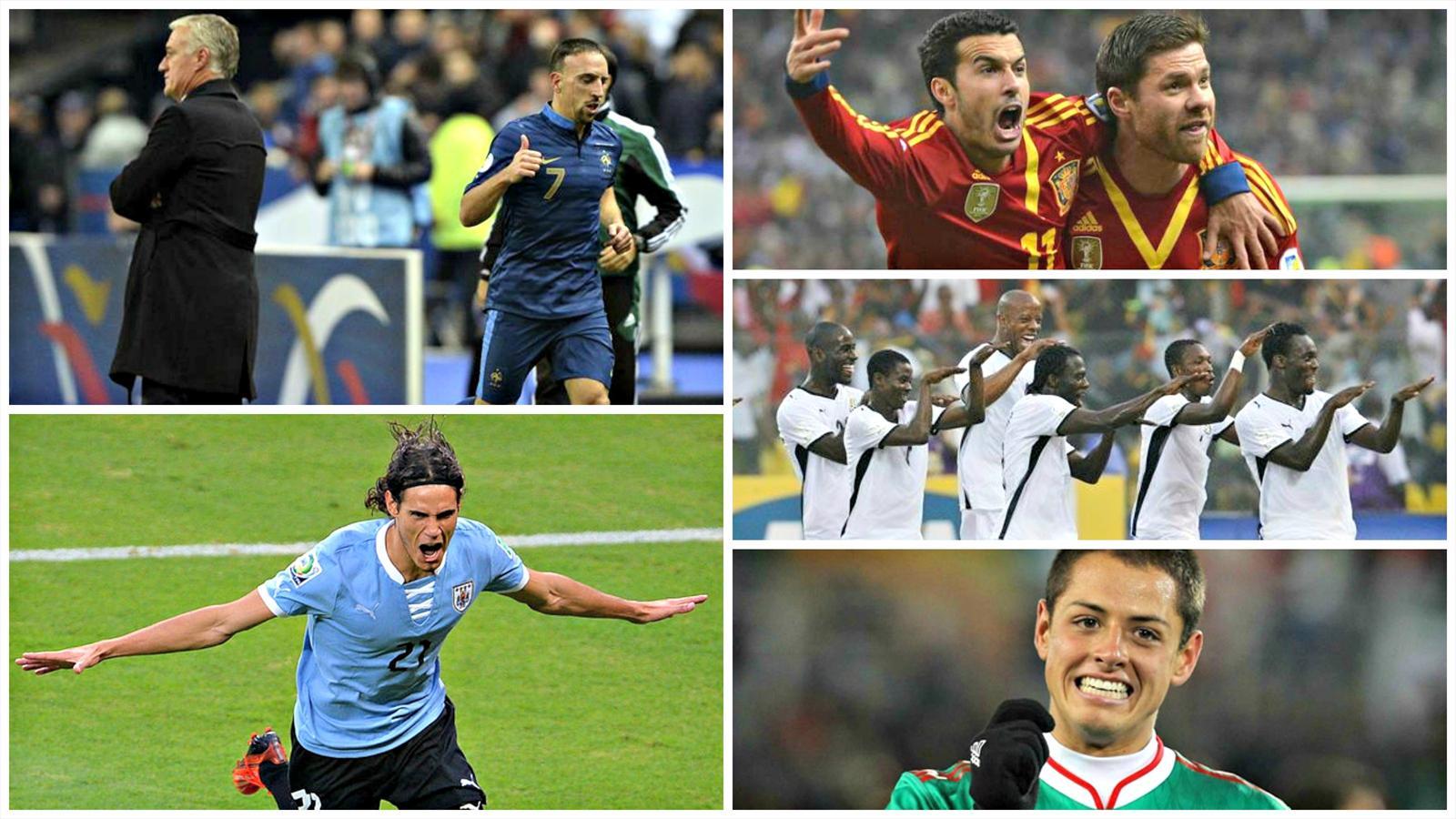 Qualifications mondial 2014 748 joueurs 34 matches de - Qualification coupe de monde afrique ...