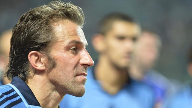 Del Piero out per infortunio, il Sydney ne prende 4
