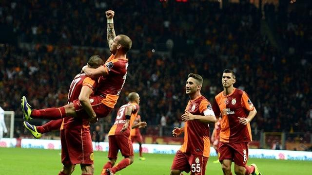 Arena'da Sneijder'in gecesi